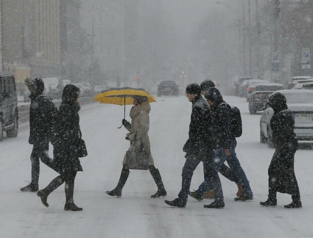 Циклон в Україні, фото: Уніан