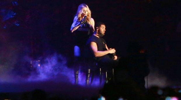 Поцелуй Мадонны отнял 10 лет жизни у рэпера