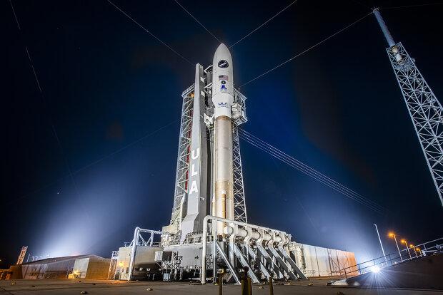 тяжелая ракета-носитель Atlas 5 \\ фото Twitter