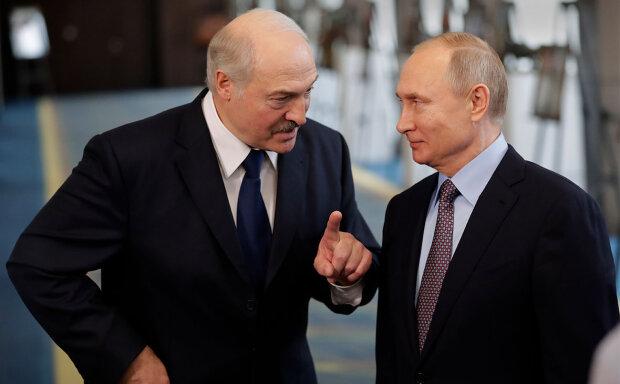 Александр Лукашенко и Владимир Путин, фото: ТАСС