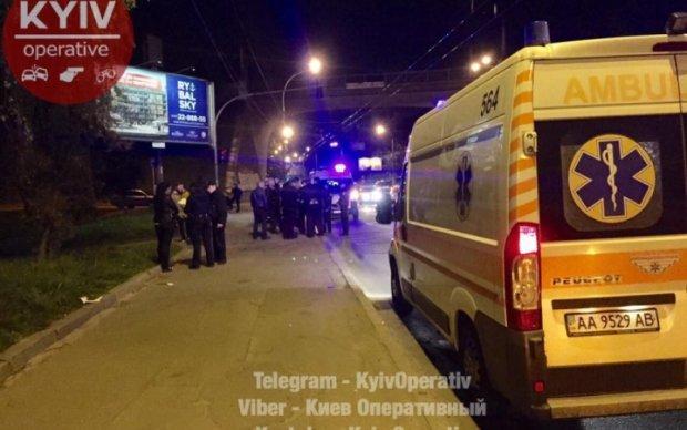 Опубліковано відео з місця стрілянини в Києві
