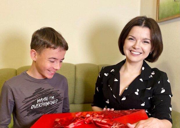 Маричка Падалко с сыном, фото с Instagram