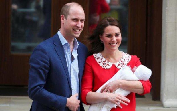 Королівські батьки озвучили світу ім'я новонародженого принца