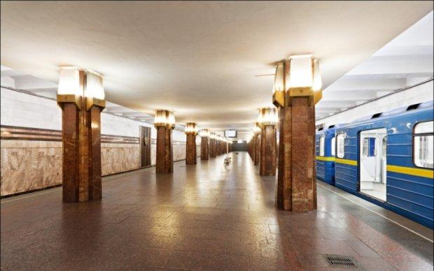 У Києві блокували одну зі станцій підземки