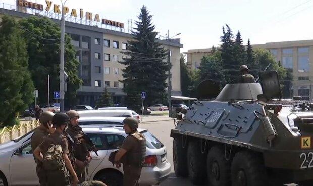 Українські гвардійці, скріншот: YouTube