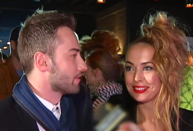 Жанна Фріске і Дмитро Шепелєв, кадр з відео