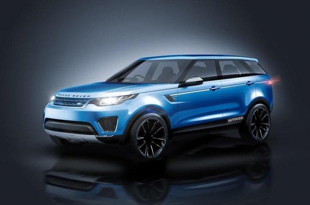 Land Rover подражнив першими знімками нового кросовера