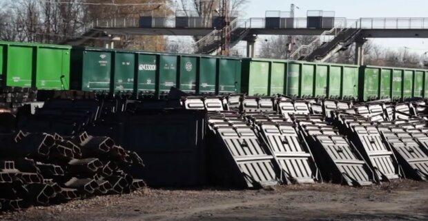 Укрзализныця, грузовые перевозки