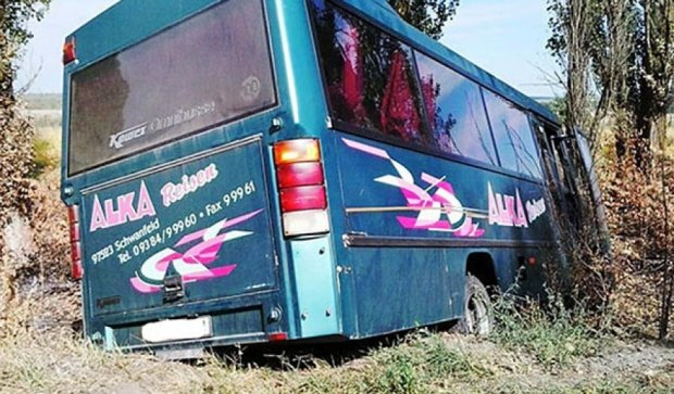 Іноземець в'їхав у рейсовий автобус на Вінниччині