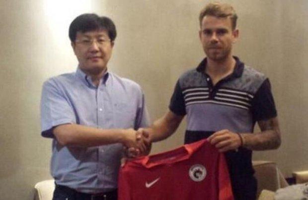 Кращий бомбардир української прем'єр-ліги перейшов до китайського клубу