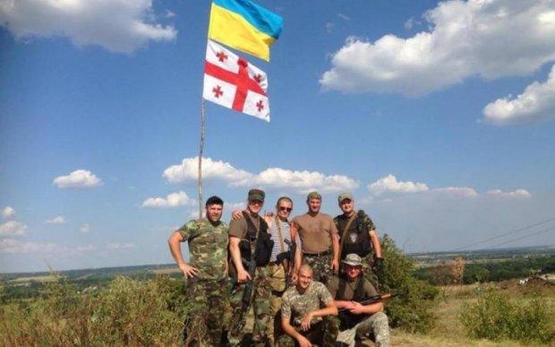 Грузинські військові пройдуть по центру Києва