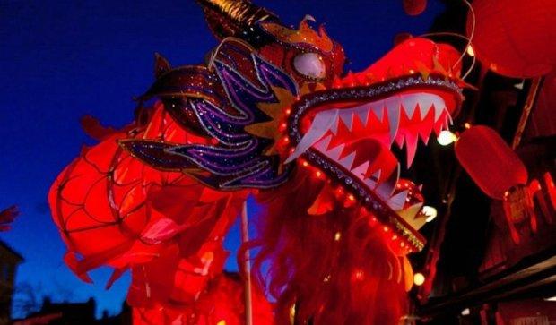 Львовяне отпраздновали Новый год по-китайски (фото, видео)