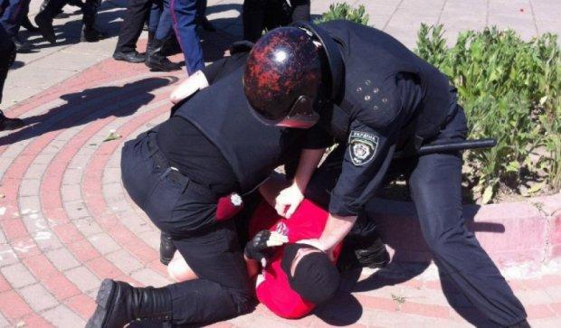 На київському марші секс-меншин уже 9 постраждалих міліціонерів