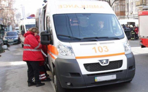 Роковой удар: появилось видео жуткой аварии в Киеве