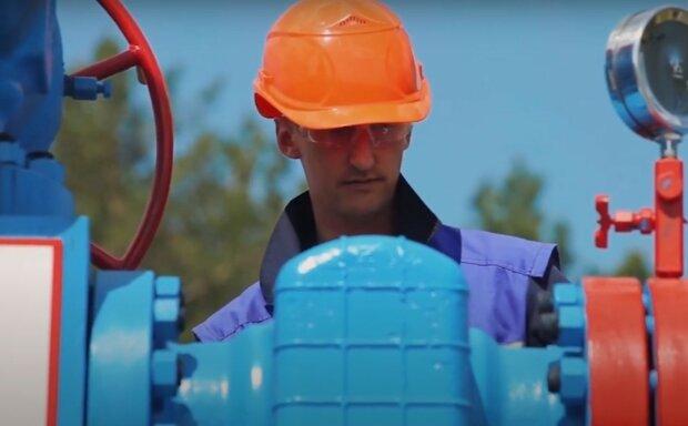 газівник, скріншот з відео