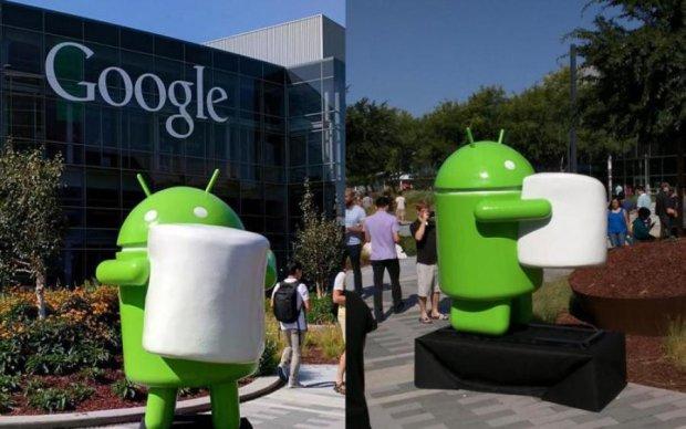 Новий Android раптово стане солодким