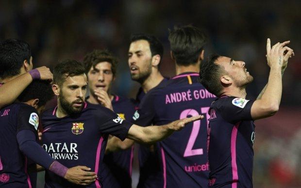 Барселона розгромила Гранаду