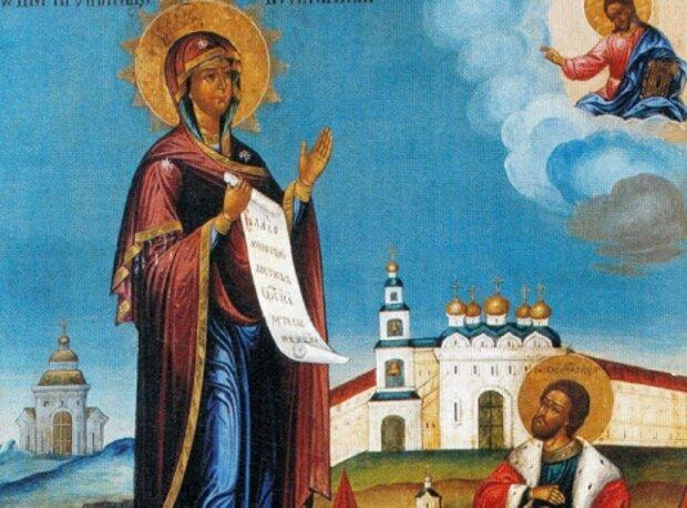 Икона Боголюбской Божьей Матери: открытый источник