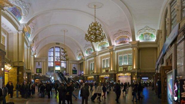 Киевский вокзал, скриншот: YouTube