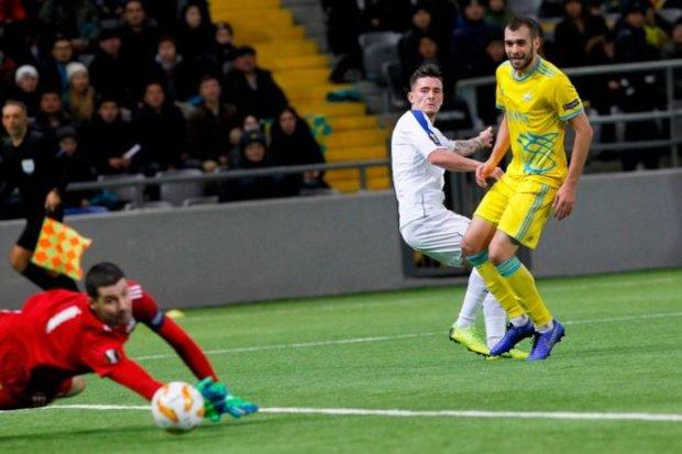 Динамо в складних умовах перемогло в Казахстані і виграло групу Ліги Європи