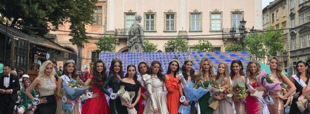 Красавица из Франковска надела корону во Львове