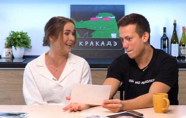 Еліна Світоліна та Олексій Дурнєв / скріншот з відео