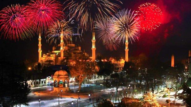 Новый год 2019: встречай, Стамбул