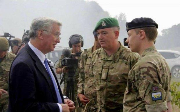 Великобритания подготовит усиление украинской армии
