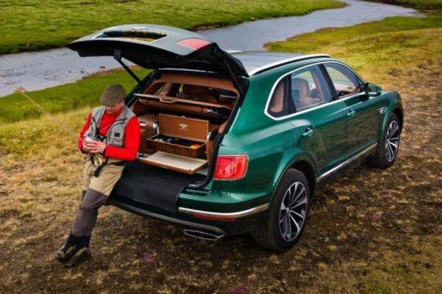 Bentley создал внедорожник для рыбалки за 200 тыс дол