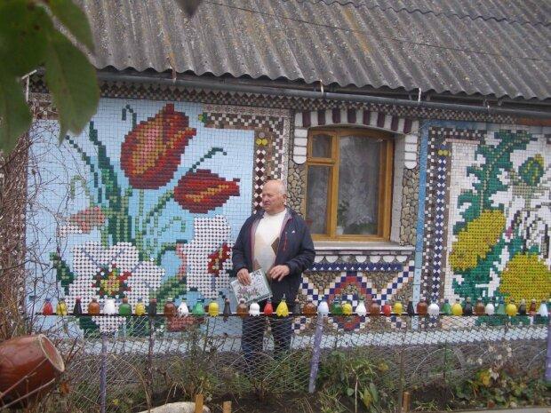 Пенсионер преобразил дом, фото: социальные сети