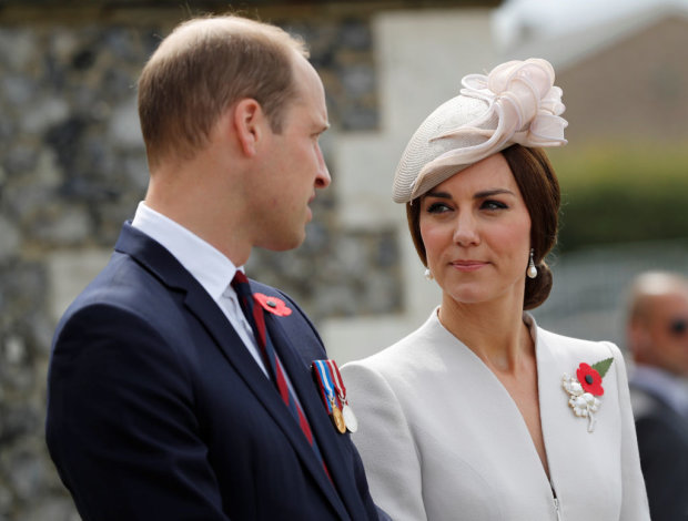 Кейт Міддлтон з чоловіком принцем Вільямом