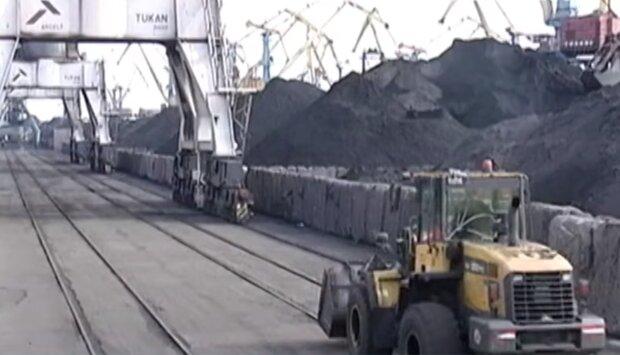 Добыча угля, скриншот из видео