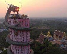 буддійський храм Wat Samphran