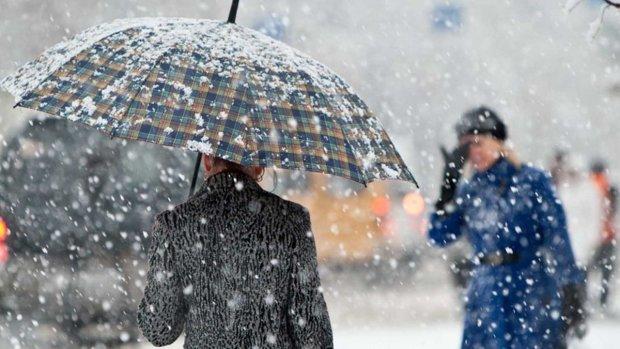 Сильное похолодание, снег и метели: украинцам рассказали о погоде в ноябре