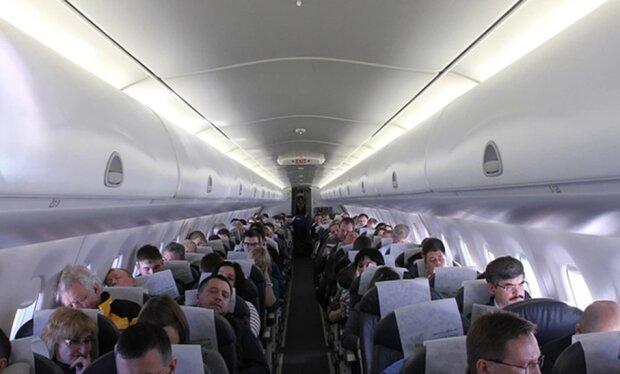 В самолете, фото из открытых источников
