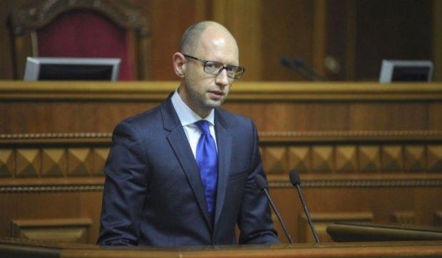 Для обеспечения армии уже выделили 100 млрд гривен - Яценюк