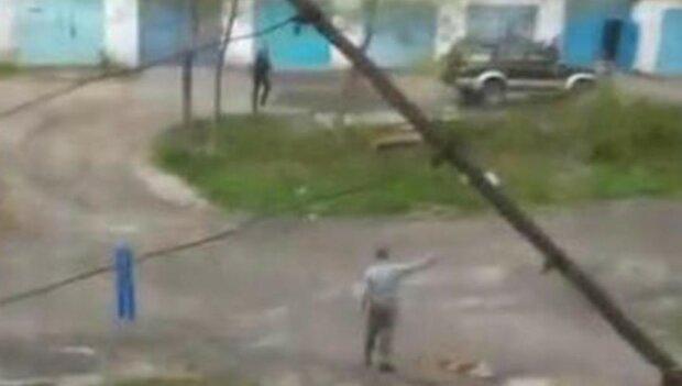 Мужчина в РФ, фото: Кадр из видео