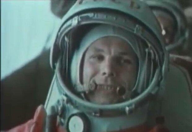 Юрій Гагарін, фото: скріншот