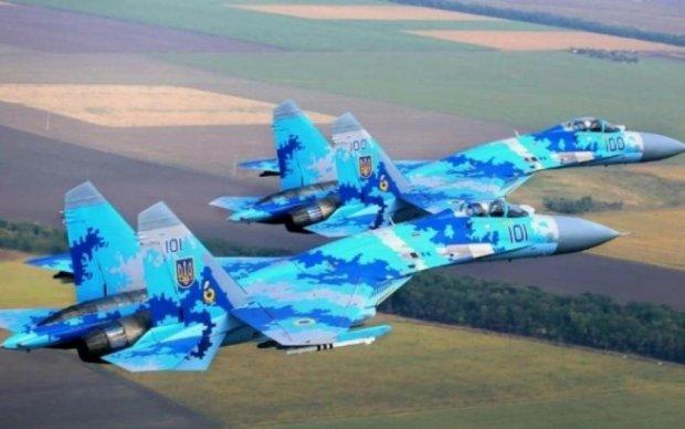 Воздушный щит Украины: военные показали лучшие образцы авиации в действии