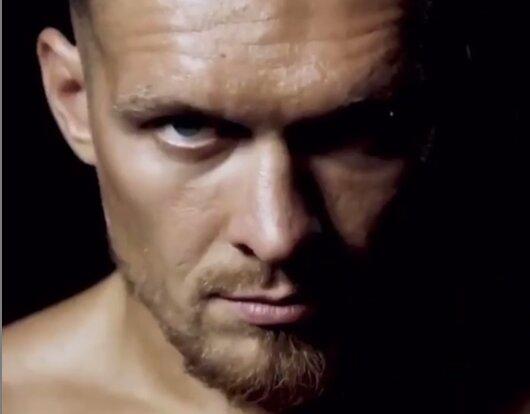 Александр Усик, скриншот из видео Instagram
