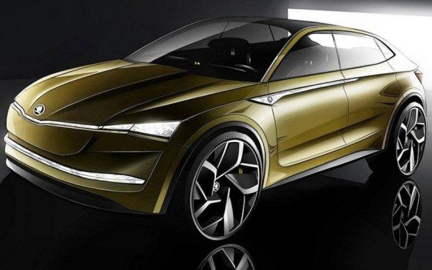 Skoda показала салон электромобиля будущего
