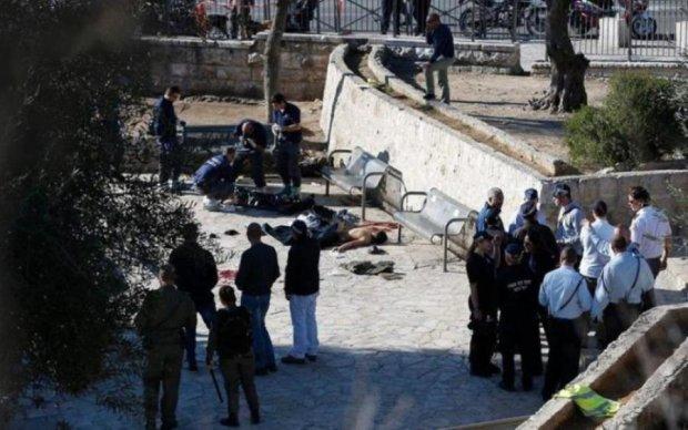 """В центре Ерусалима устроили """"холодный"""" теракт"""