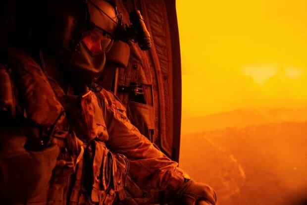 лісові пожежі в Австралії, фото з вільних джерел