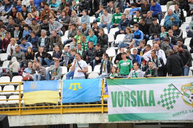 Гітлер з'явився на матчі українських футбольних команд: фото