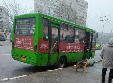 """В Харькове пенсионера зажало в дверях маршрутки, водитель не спешил спасать: """"Тебе вернется!"""""""