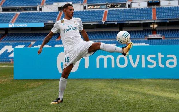Новачок Реала осоромився на своїй презентації
