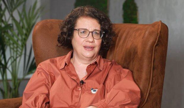 Людмила Петрановська, скріншот з відео