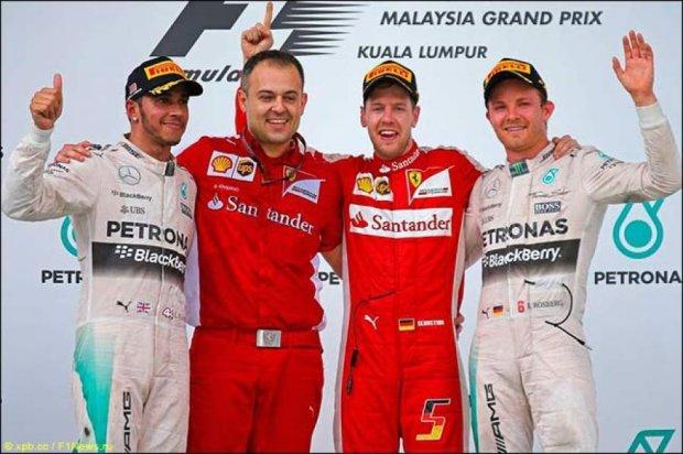 Відомі результати другого етапу Формули 1