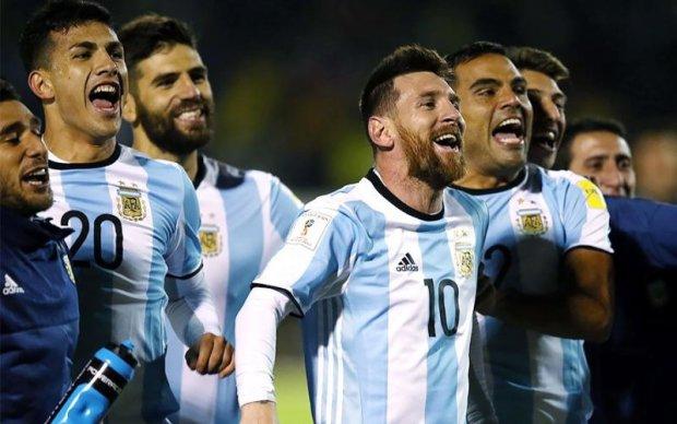 У мережі з'явились фото нової форми збірної Аргентини до ЧС-2018