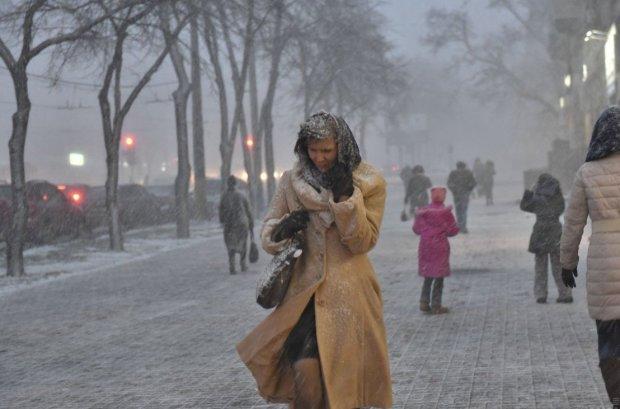 Погода на тиждень: туман, морози і сильний вітер шокують українців